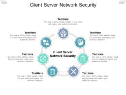 Client Server Network Security Ppt Powerpoint Presentation Background Cpb