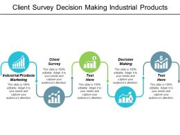 client_survey_decision_making_industrial_products_marketing_innovation_management_cpb_Slide01