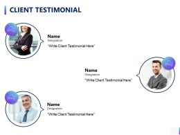 Client Testimonial Communication A790 Ppt Powerpoint Presentation Layouts Templates