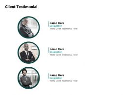 Client Testimonial Communication F436 Ppt Powerpoint Presentation Model Guidelines