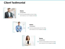 Client Testimonial Communication J192 Ppt Powerpoint Presentation File Layouts