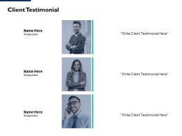 Client Testimonial Communication L99 Ppt Powerpoint Presentation Portfolio Gallery