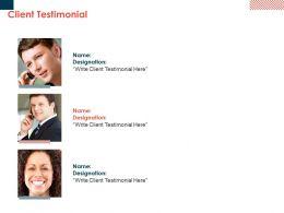 Client Testimonial Communication Planning Ppt Powerpoint Presentation Portfolio