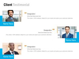Client Testimonial Introduction C1051 Ppt Powerpoint Presentation File Guidelines