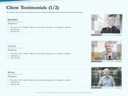 Client Testimonials Charles Social Pension Ppt Themes