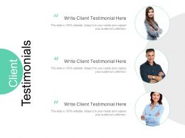 Client Testimonials Communication C973 Ppt Powerpoint Presentation Icon Portfolio