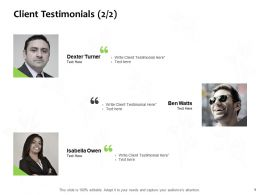 Client Testimonials Communication J81 Ppt Powerpoint Presentation Icon Design