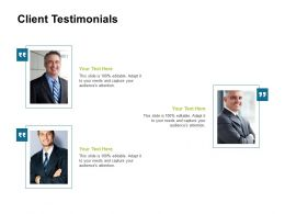 Client Testimonials Communication L78 Ppt Powerpoint Presentation Styles Icons
