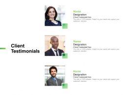 Client Testimonials Communication L836 Ppt Powerpoint Tips