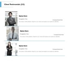 Client Testimonials Communication L87 Ppt Powerpoint Presentation Summary Slide