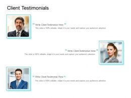 Client Testimonials Communication Ppt Powerpoint Presentation Professional