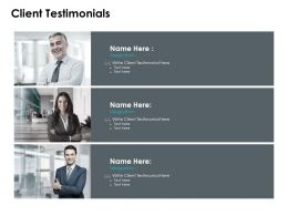 Client Testimonials Introduction F655 Ppt Powerpoint Presentation Styles Layouts