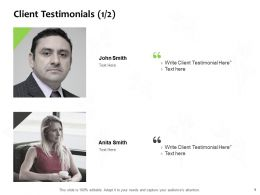 Client Testimonials Members J80 Ppt Powerpoint Presentation Icon Deck