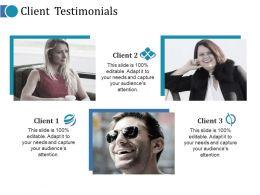 Client Testimonials Ppt Professional Ideas