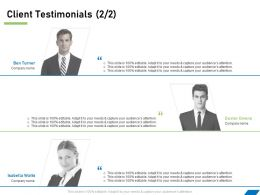Client Testimonials R78 Ppt Powerpoint Presentation File Format