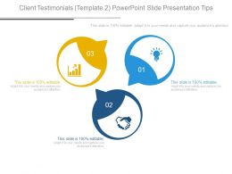 Client Testimonials Template2 Powerpoint Slide Presentation Tips