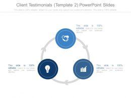 Client Testimonials Template2 Powerpoint Slides