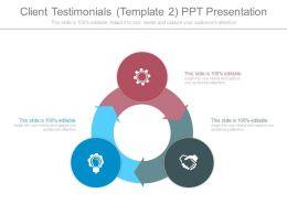 Client Testimonials Template2 Ppt Presentation