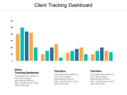 Client Tracking Dashboard Ppt Powerpoint Presentation Icon Rules Cpb