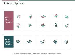 Client Update Ppt Slides Format