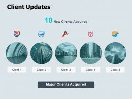 Client Updates About Us Ppt Powerpoint Presentation Icon Model
