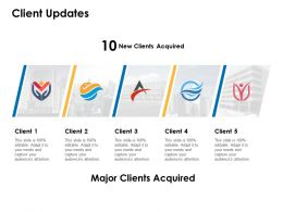 Client Updates Acquired Management Ppt Powerpoint Presentation Ideas