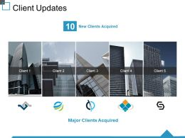 Client Updates Ppt Design Ideas