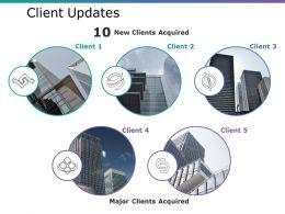 Client Updates Ppt Ideas Background Images