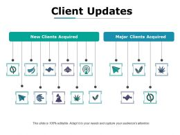 Client Updates Ppt Sample File