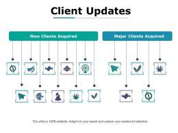 Client Updates Ppt Sample File