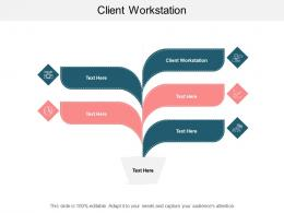 Client Workstation Ppt Powerpoint Presentation Model Inspiration Cpb
