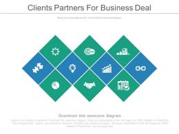 clients_partners_for_business_deal_ppt_slides_Slide01