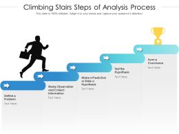 Climbing Stairs Steps Of Analysis Process