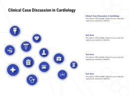 Clinical Case Discussion In Cardiology Ppt Powerpoint Presentation Icon Slideshow