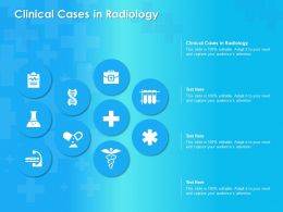 Clinical Cases In Radiology Ppt Powerpoint Presentation Slides Picture