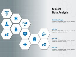 Clinical Data Analysis Ppt Powerpoint Presentation File Files