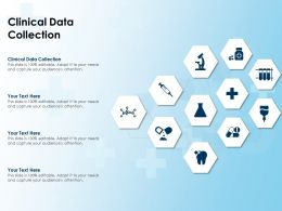 Clinical Data Collection Ppt Powerpoint Presentation Ideas Guidelines