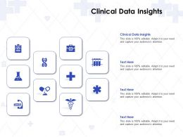 Clinical Data Insights Ppt Powerpoint Presentation Gallery Picture