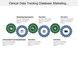 Clinical Data Tracking Database Marketing Optimization Customer Experience