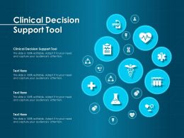 Clinical Decision Support Tool Ppt Powerpoint Presentation Outline Graphics