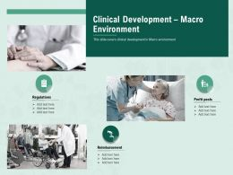 Clinical Development Macro Environment M2417 Ppt Powerpoint Presentation Outline Graphics Template