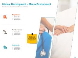 Clinical Development Macro Environment Ppt Powerpoint Presentation File Example File