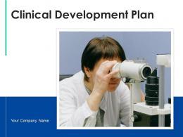 Clinical Development Plan Implementation Roadmap Regulatory Approval Elements Product