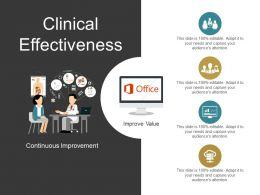 Clinical Effectiveness Presentation Diagrams