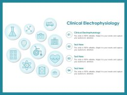 Clinical Electrophysiology Ppt Powerpoint Presentation Model Introduction
