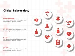 Clinical Epidemiology Ppt Powerpoint Presentation Inspiration