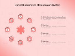 Clinical Examination Of Respiratory System Ppt Powerpoint Presentation Model Themes