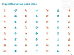 Clinical Marketing Icons Slide Ppt Powerpoint Presentation File Inspiration
