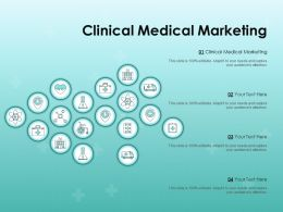 Clinical Medical Marketing Ppt Powerpoint Presentation Slides Example Introduction