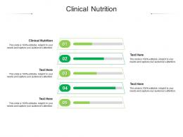 Clinical Nutrition Ppt Powerpoint Presentation Layouts Sample Cpb